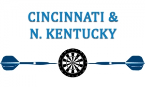 Cincinnati-Darts-Centerpiece